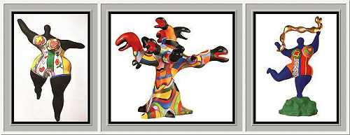 &nbsp;Niki de St. Phalle, Nanas and Snakes &#0183; &copy; Copyright Werner Popken. <br><br>Alle Kunstwerke / all artwork &copy; CC BY-SA