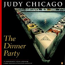 »�Judy Chicago: The Dinner Party · © Copyright Werner Popken.  Alle Kunstwerke / all artwork � CC BY-SA