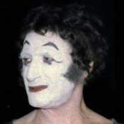 » Monsieur Bip Marcel Marceau 1977 · © Copyright Werner Popken.  Alle Kunstwerke / all artwork © CC BY-SA