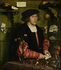 » Holbein: Giese · © Copyright Werner Popken.  Alle Kunstwerke / all artwork © CC BY-SA