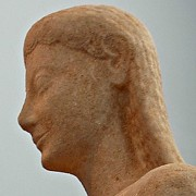 »  Kouros (Theben) · © Copyright Werner Popken.  Alle Kunstwerke / all artwork © CC BY-SA