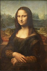 » Mona Lisa · © Copyright Werner Popken.  Alle Kunstwerke / all artwork © CC BY-SA
